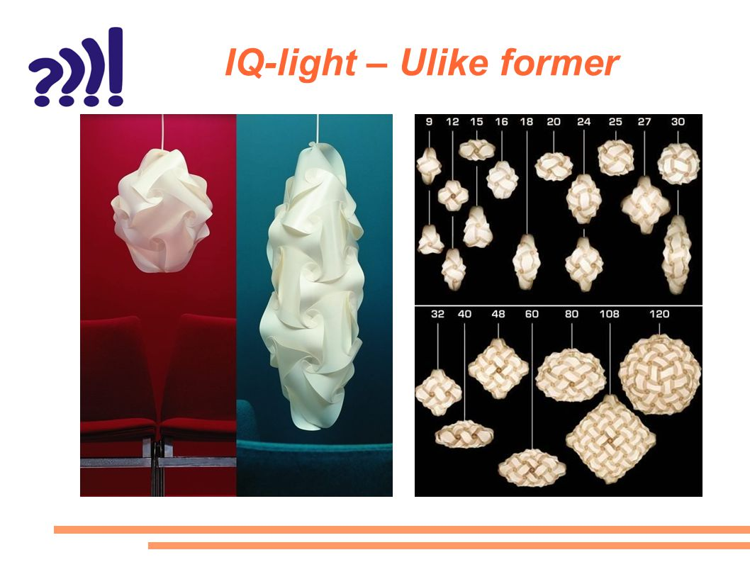 IQ-light – Ulike former