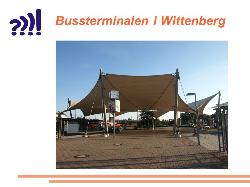 Bussterminalen i Wittenberg