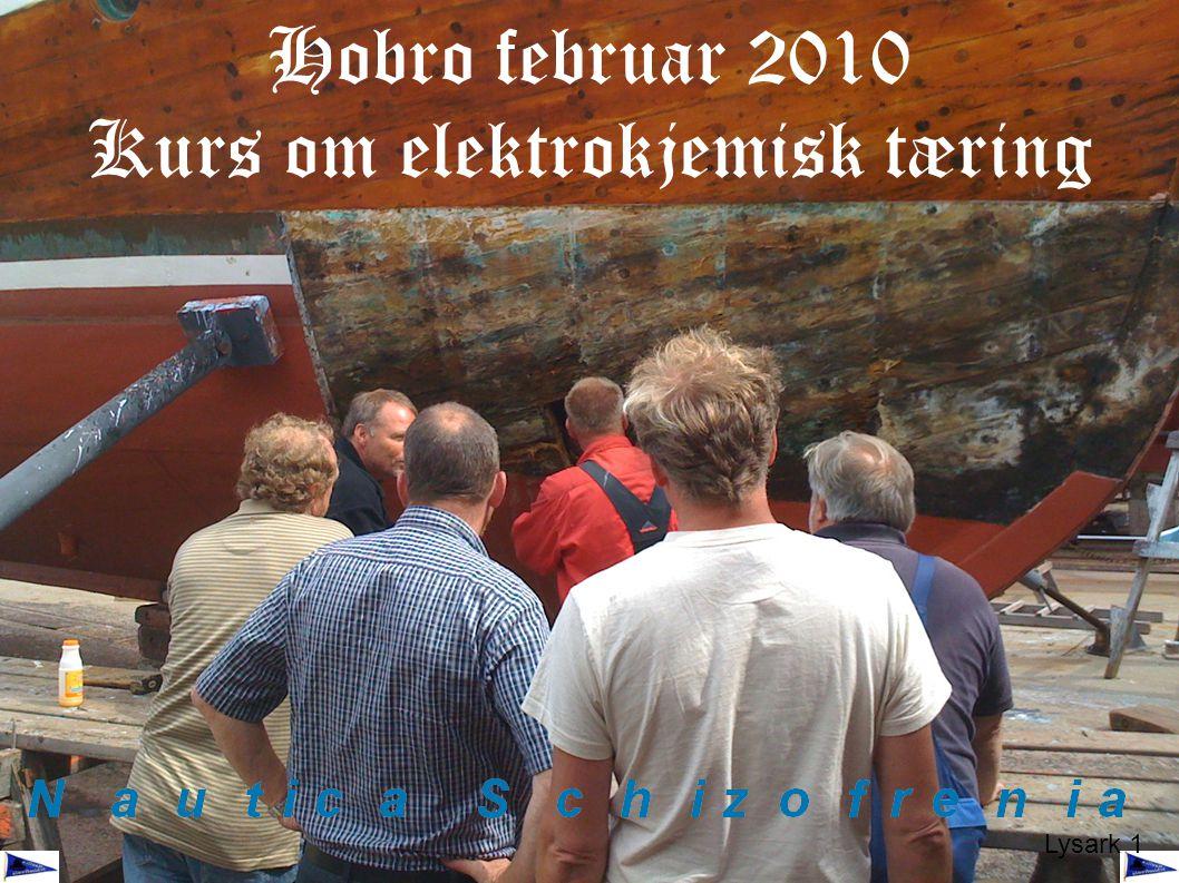 Hobro februar 2010 Kurs om elektrokjemisk tæring