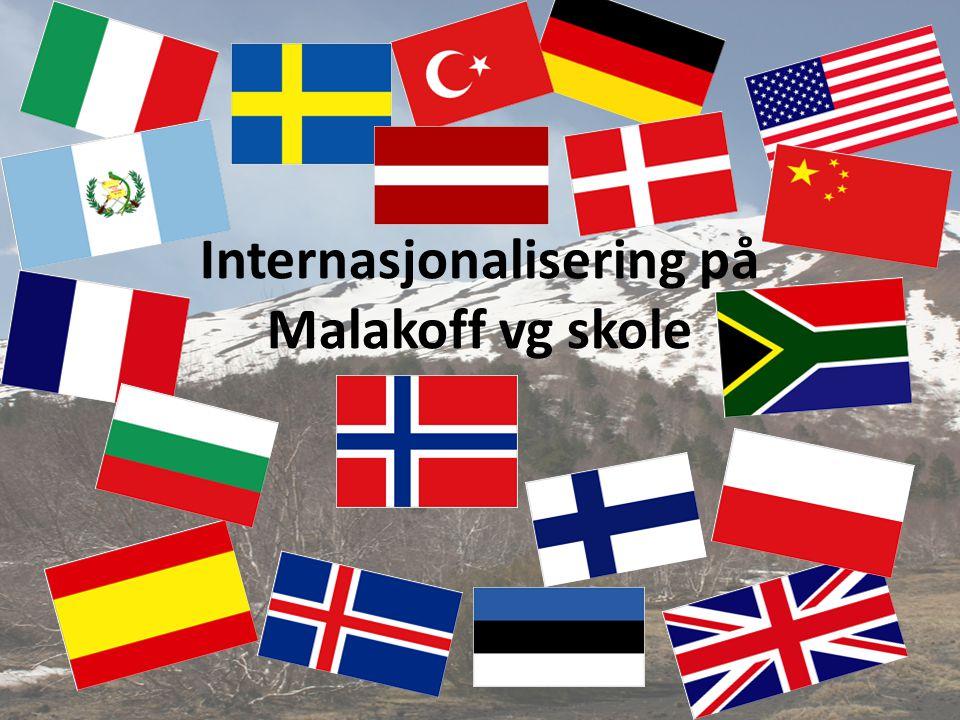 Internasjonalisering på Malakoff vg skole