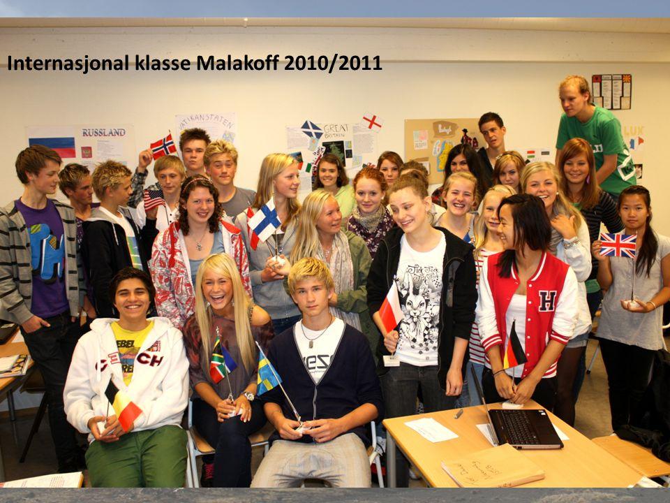 Internasjonal klasse Malakoff 2010/2011
