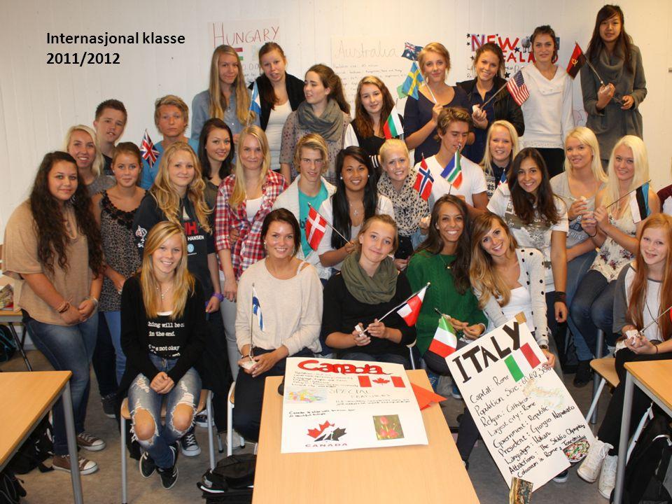 Internasjonal klasse 2011/2012