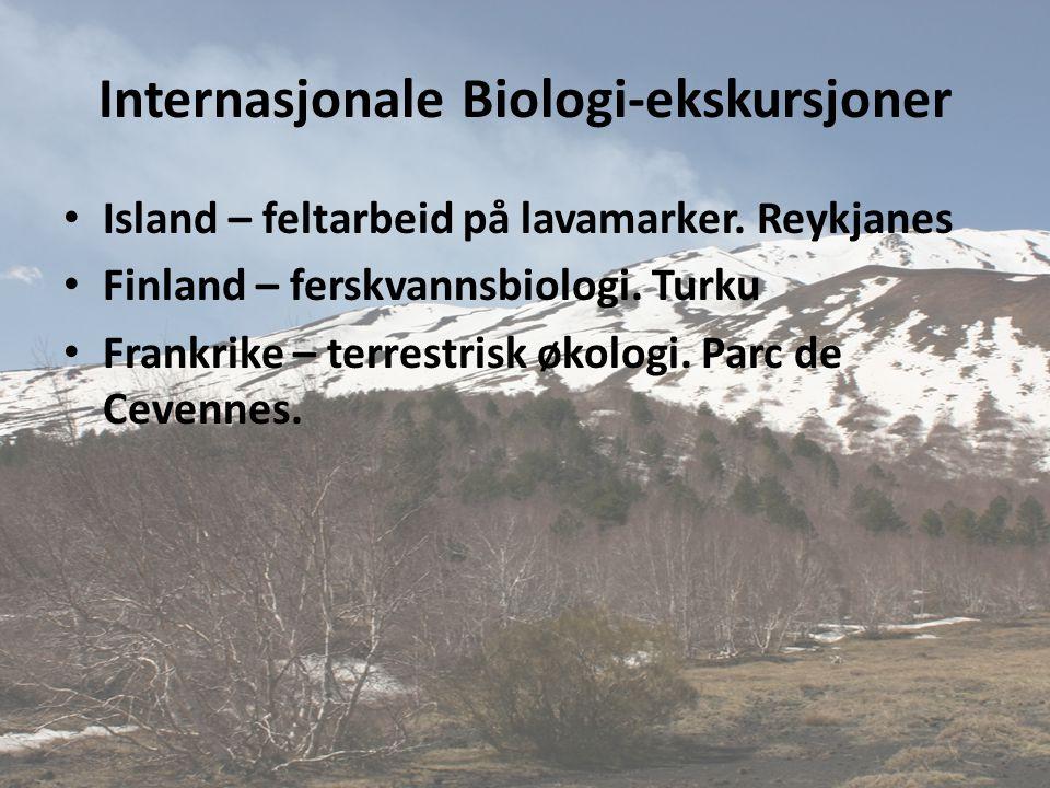 Internasjonale Biologi-ekskursjoner