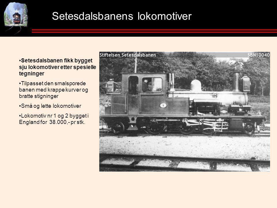 Setesdalsbanens lokomotiver