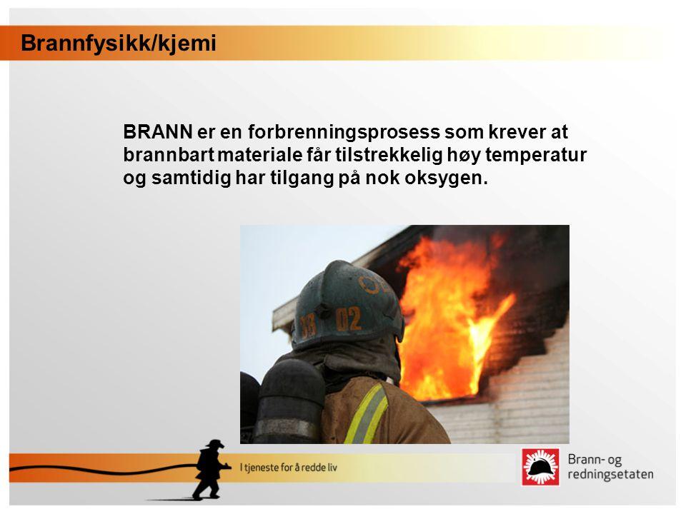 Brannfysikk/kjemi