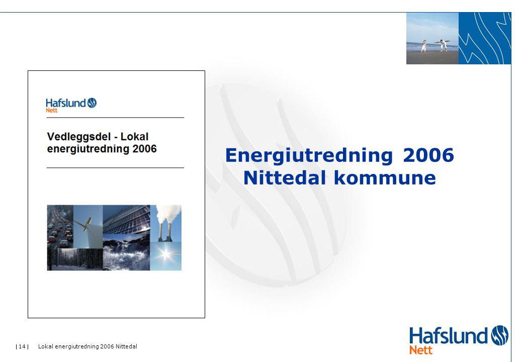 Energiutredning 2006 Nittedal kommune
