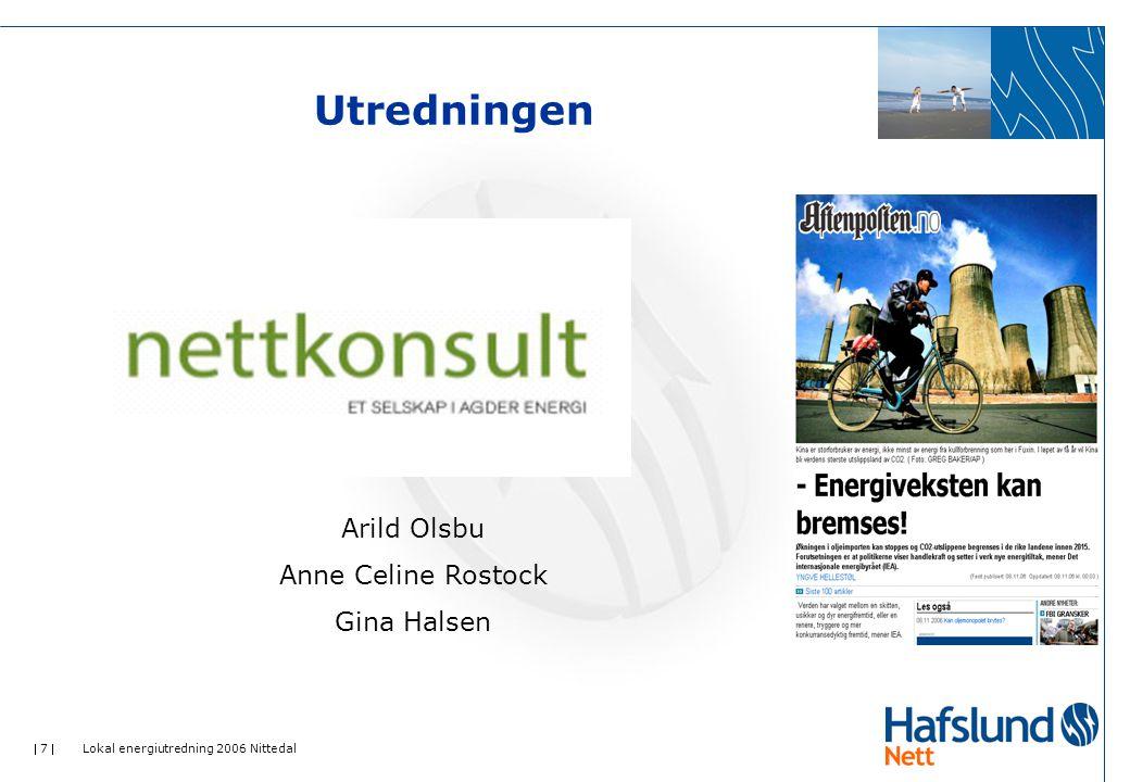 Utredningen Arild Olsbu Anne Celine Rostock Gina Halsen