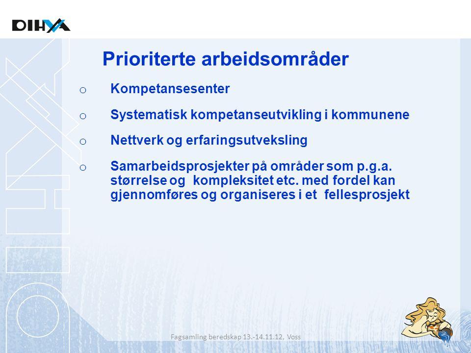 Fagsamling beredskap 13.-14.11.12, Voss