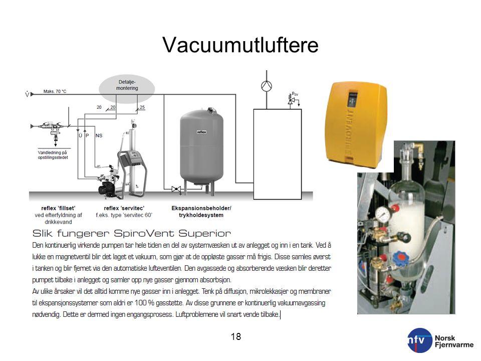 Vacuumutluftere