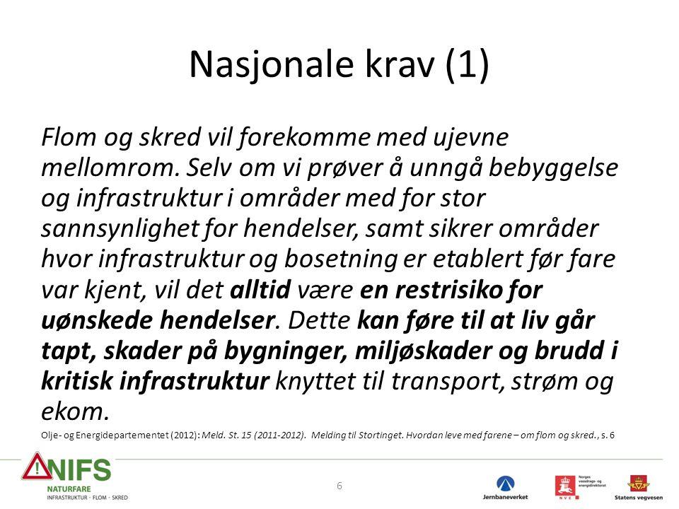 Nasjonale krav (1)