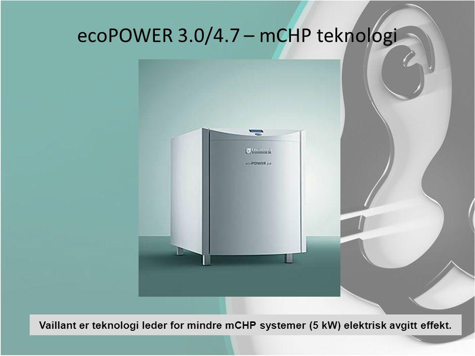 ecoPOWER 3.0/4.7 – mCHP teknologi