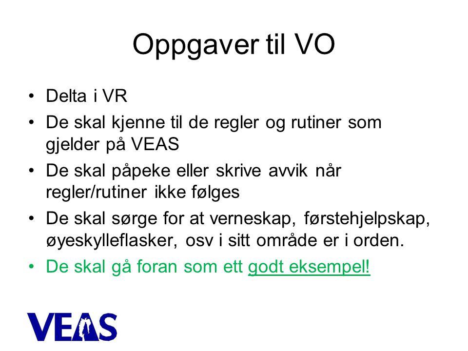Oppgaver til VO Delta i VR