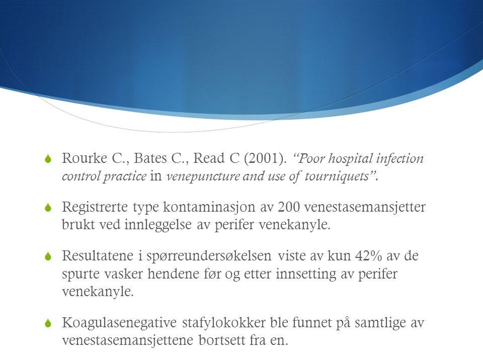 Rourke C. , Bates C. , Read C (2001)