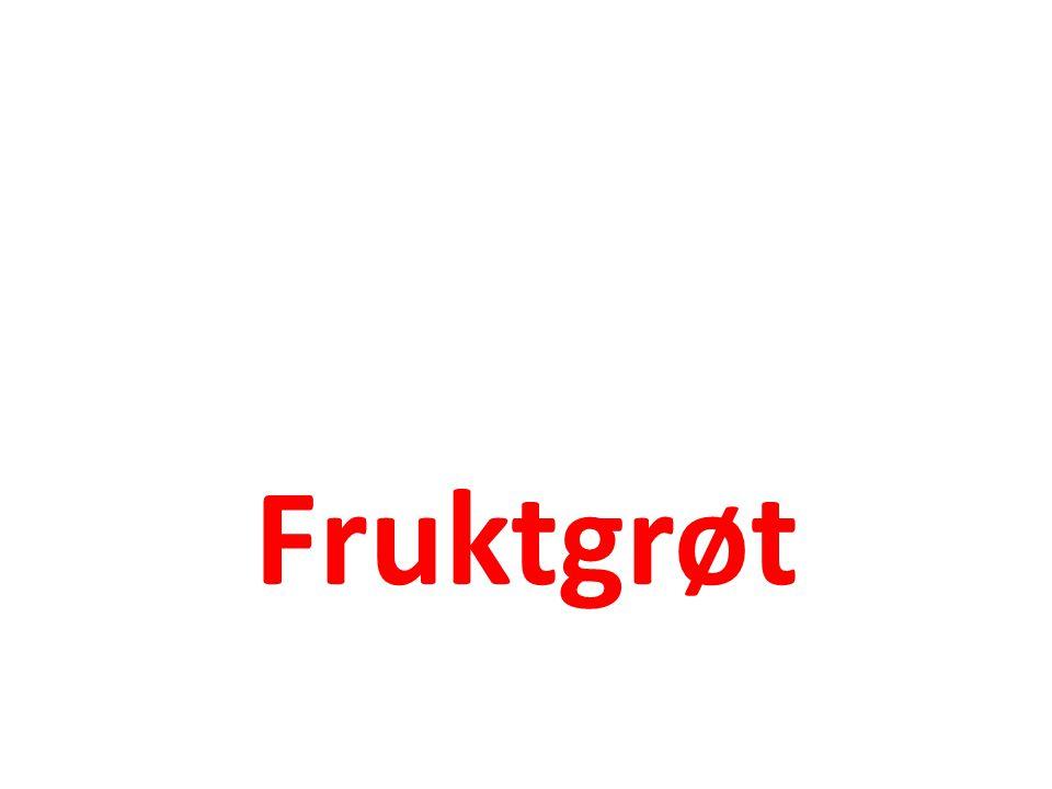 Fruktgrøt