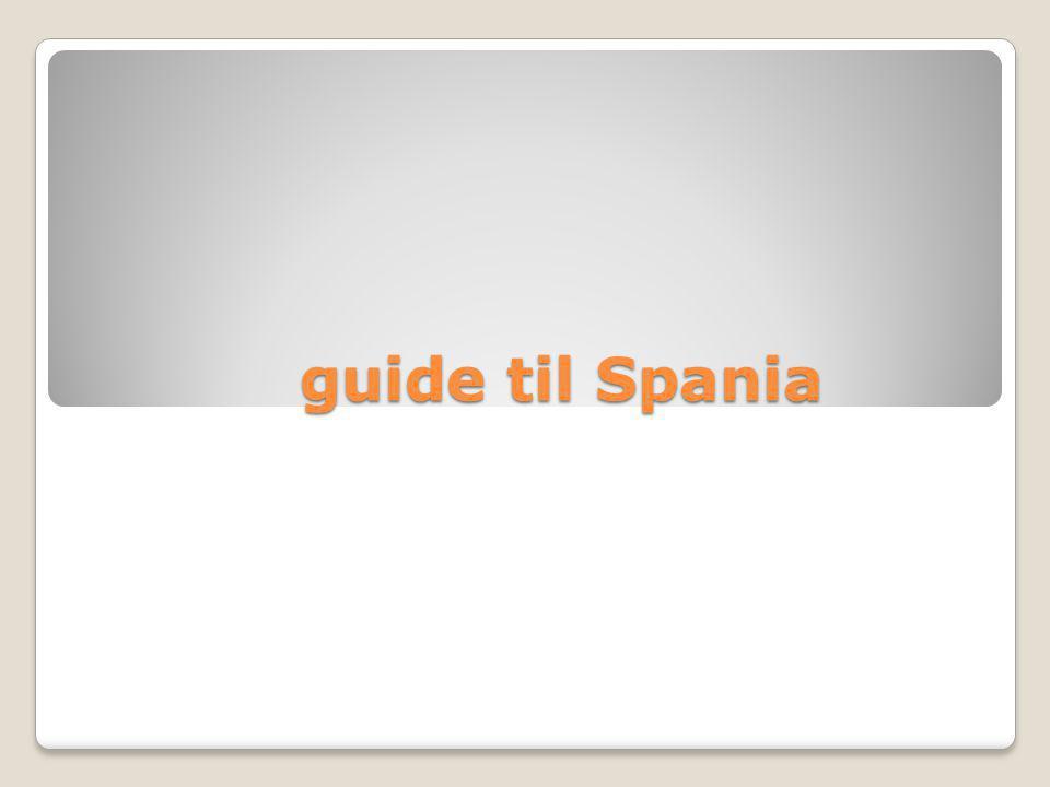 guide til Spania