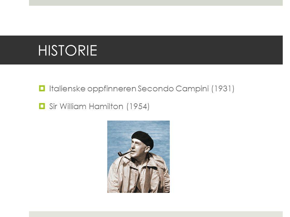 HISTORIE Italienske oppfinneren Secondo Campini (1931)