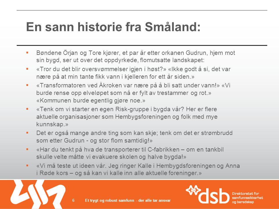 En sann historie fra Småland: