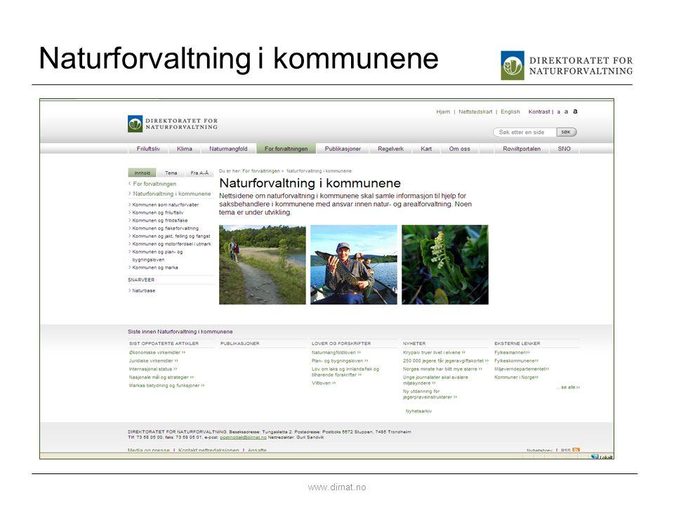 Naturforvaltning i kommunene