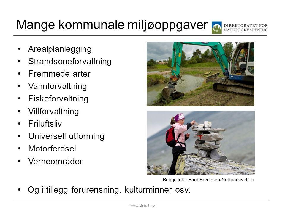 Mange kommunale miljøoppgaver