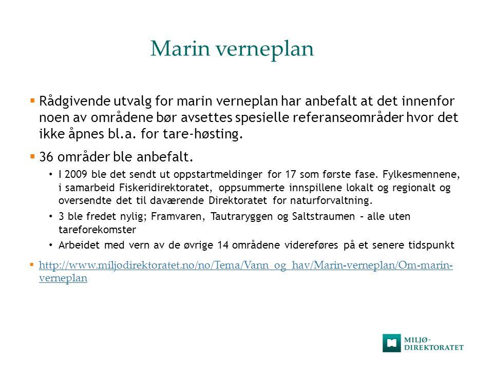 Marin verneplan