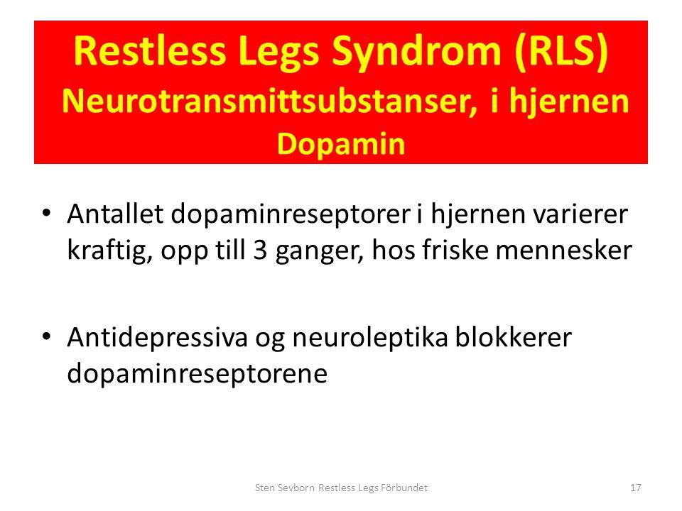 Sten Sevborn Restless Legs Förbundet