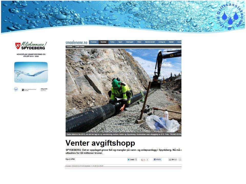 Har hatt gleden av å arbeide med en hovedplan for VA i Spydeberg kommune sammen med to konsulentselskaper og i nært samarbeid med driftsavdelingen i Spydeberg kommune.