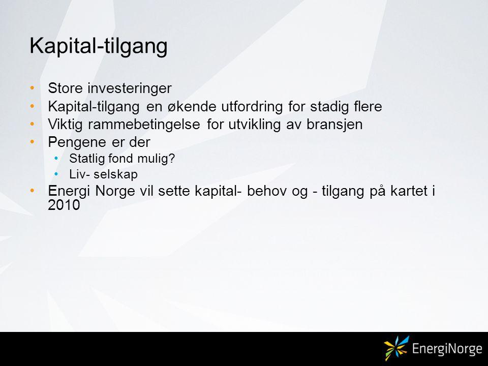 Kapital-tilgang Store investeringer