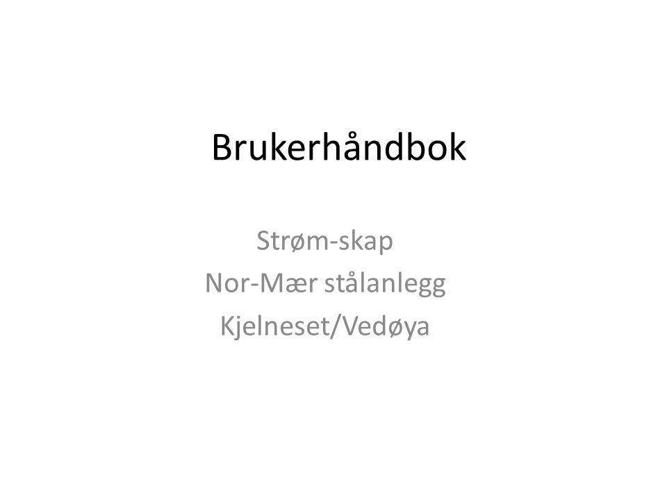 Strøm-skap Nor-Mær stålanlegg Kjelneset/Vedøya