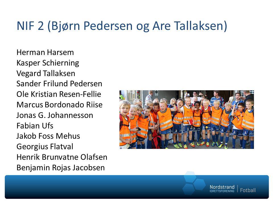 NIF 2 (Bjørn Pedersen og Are Tallaksen)