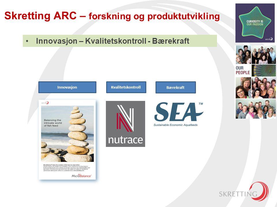Skretting ARC – forskning og produktutvikling