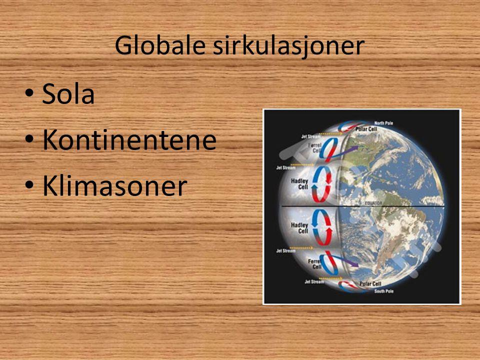 Globale sirkulasjoner