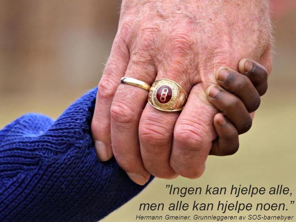 Ingen kan hjelpe alle, men alle kan hjelpe noen.