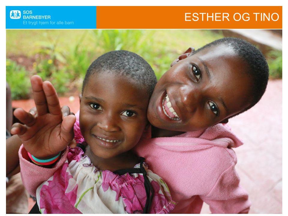 ESTHER OG TINO Heldigvis er det mulig å hjelpe. Vi skal se nå hvilket liv de to søstrene lever.