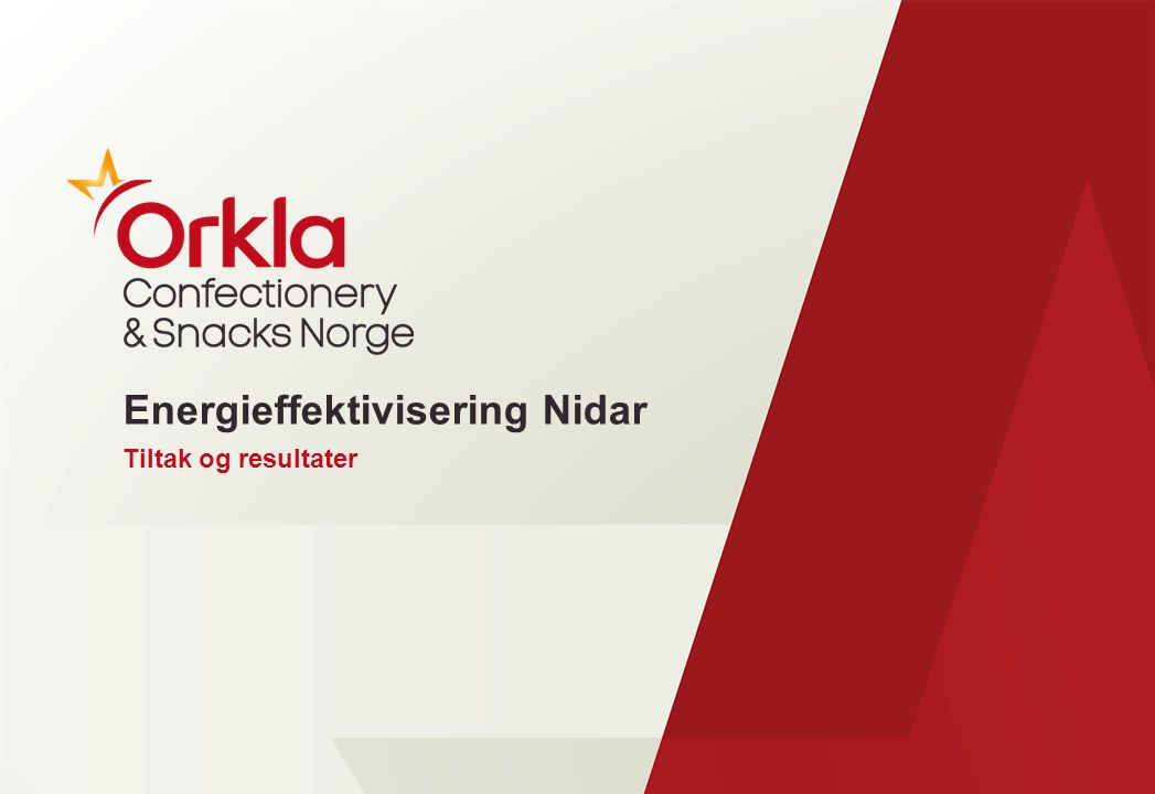 Energieffektivisering Nidar