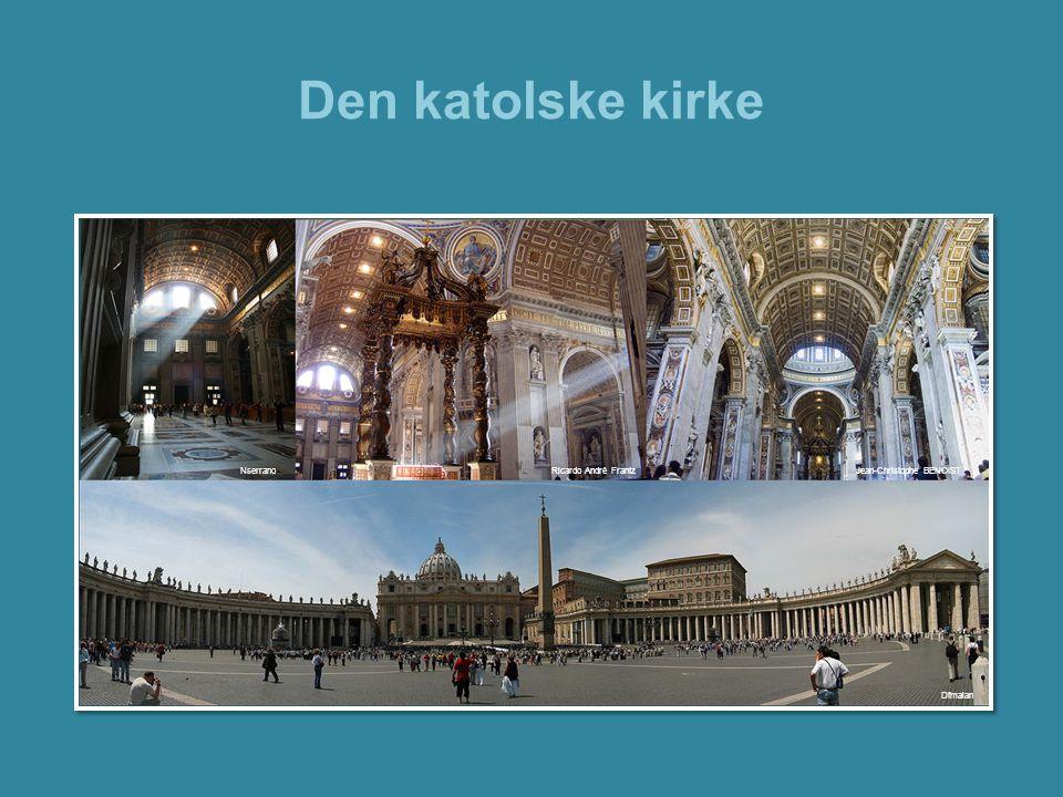 Den katolske kirke Bilder fra Peterskirken og Petersplassen. Nserrano