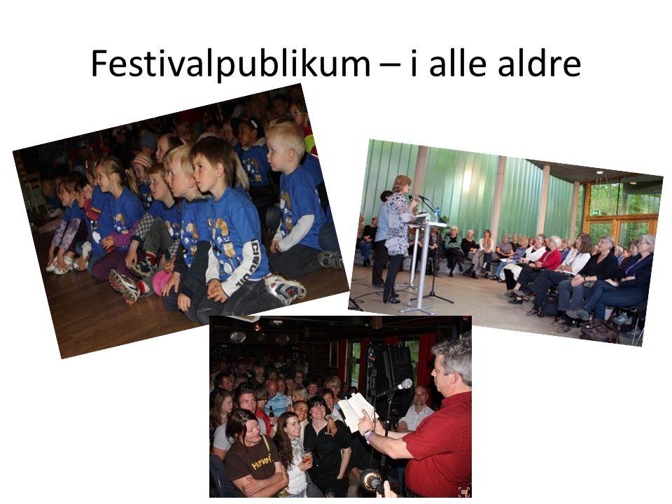 Festivalpublikum – i alle aldre
