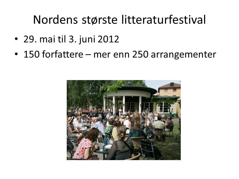Nordens største litteraturfestival
