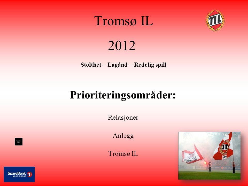 Tromsø IL 2012 Stolthet – Lagånd – Redelig spill