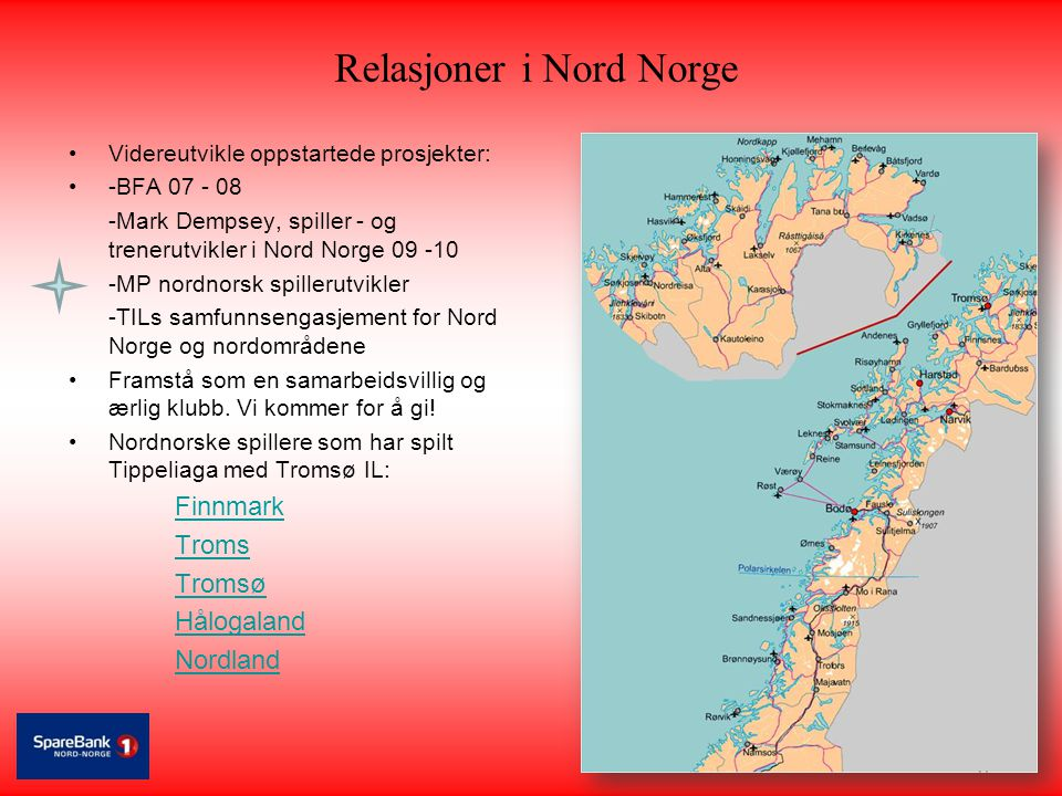 Relasjoner i Nord Norge