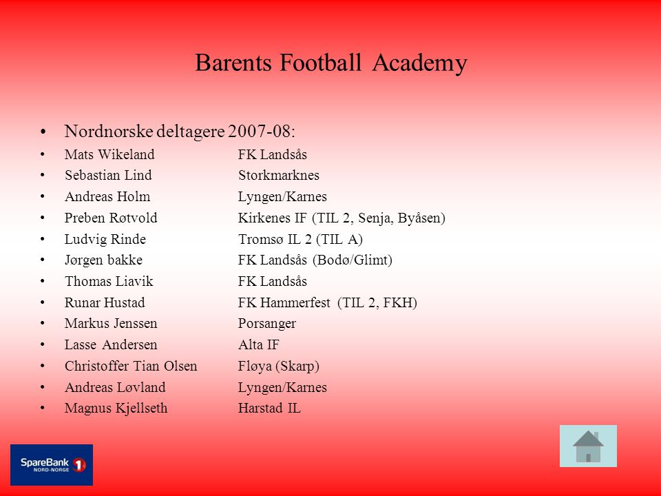Barents Football Academy