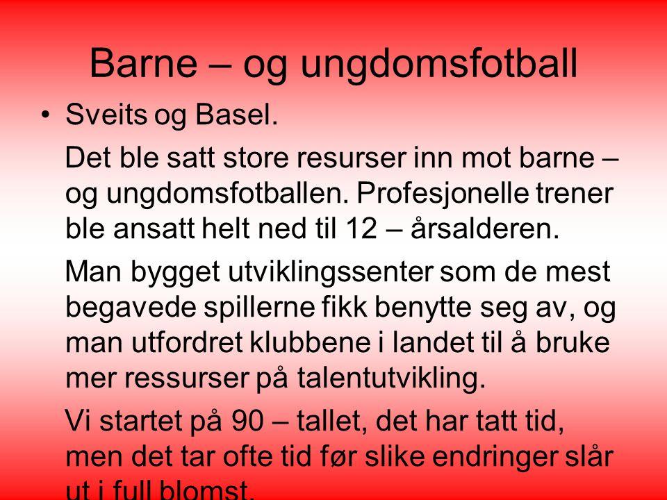 Barne – og ungdomsfotball