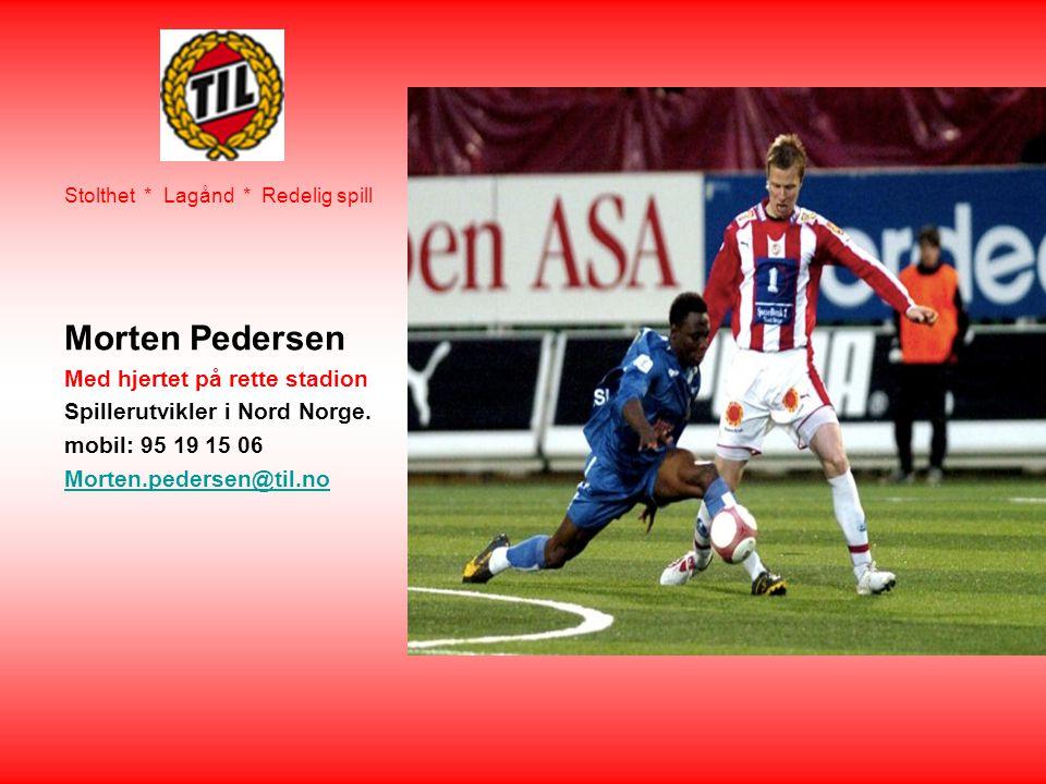 Morten Pedersen Med hjertet på rette stadion