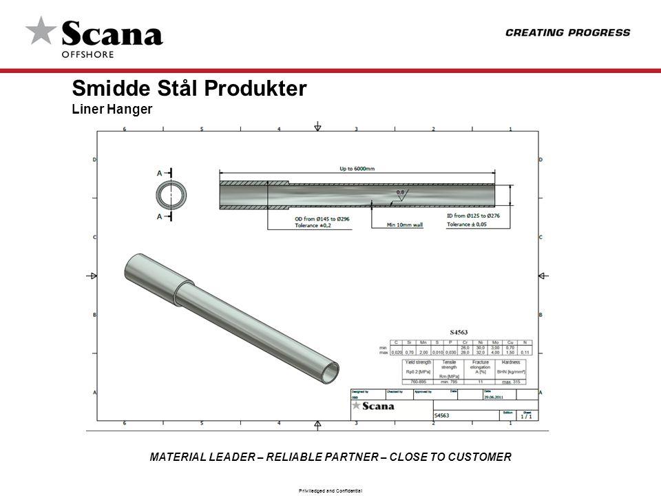 Smidde Stål Produkter Liner Hanger