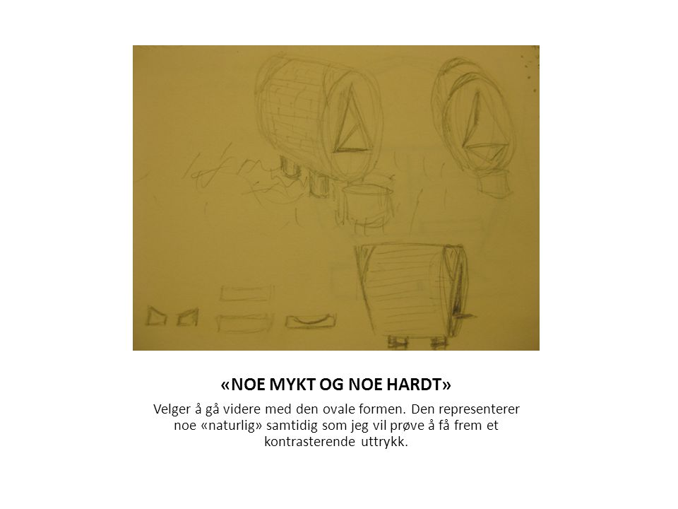 «NOE MYKT OG NOE HARDT»