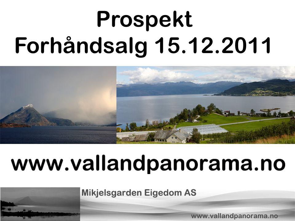 Prospekt Forhåndsalg 15.12.2011