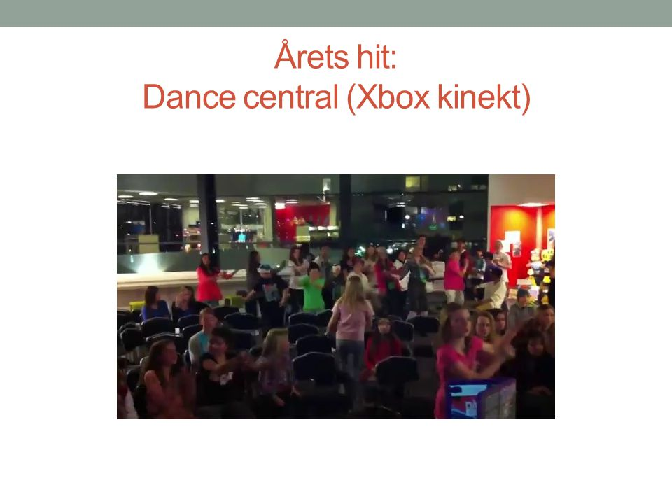 Årets hit: Dance central (Xbox kinekt)