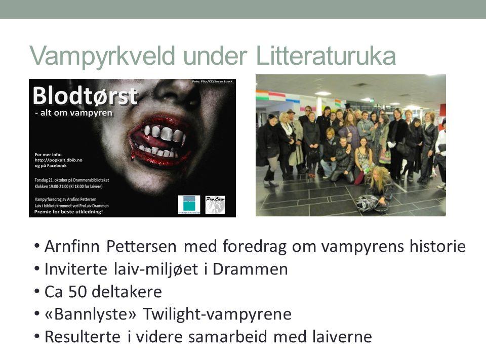 Vampyrkveld under Litteraturuka