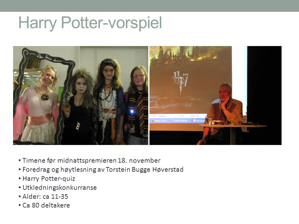 Harry Potter-vorspiel