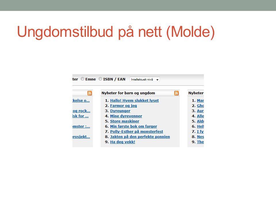 Ungdomstilbud på nett (Molde)