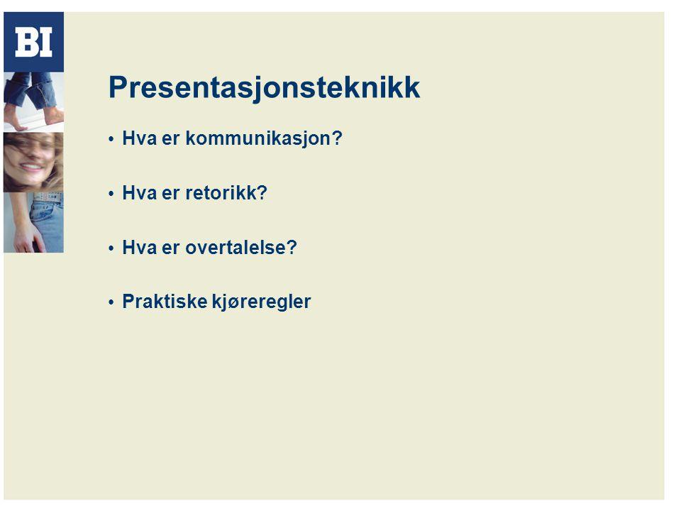Presentasjonsteknikk